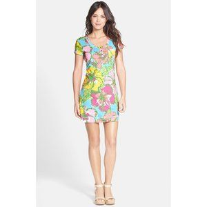 Lilly Pulitzer Britton Floral Print T-Shirt Dress